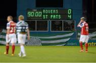 Shamrock Rovers  0-4 St. Patrick's Athletic