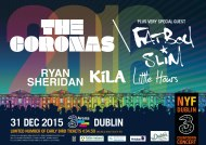 Coronas And Fatboy Slim To Headline Three Countdown Concert